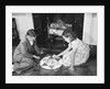 Children Playing Chinese Checkers by Corbis