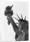 Detail of the Statue of Liberty by Frederic Auguste Bartholdi