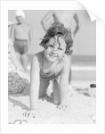 Girl at the Beach by Corbis