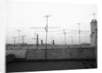 Antennas on New York Rooftops by Corbis