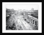 Construction of Grand Central Station by Corbis