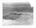 View Of Meteor Crater In Arizona by Corbis