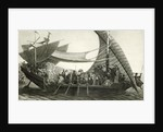 Cleopatras Barge On Nile/Illustration by Corbis