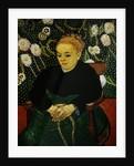 Woman Rocking a Cradle (Augustine Roulin) by Vincent Van Gogh