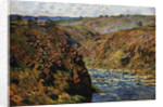 Valley of the Creuse (Sunlight Effect) by Claude Monet