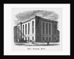 Illustration Depicting The County Jail by Corbis