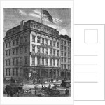 Illustration Depicting the New York Sun Building by Corbis