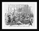 Dragging Colonel O'Brien's Body Through the Mud Newspaper Illustration by Corbis