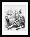 Newspaper Illustration of William Marcy Tweed Portraying Richard III by Thomas Nast
