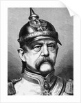 Portrait of Otto von Bismark by Corbis