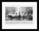 Civil War Naval Battle by Corbis