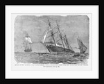 Print of the Sinking of the Alabama by Corbis