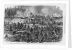 Civil War Infantry Assault by Corbis