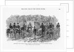 Jefferson Davis Under Arrest by Corbis