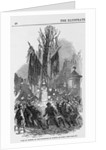 Protest at Tree of Liberty by Corbis