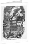 Fire in New York by Corbis