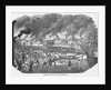 19th-Century Print of Great Fire in San Francisco by Corbis
