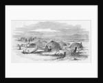 View of an Indian Rancheria, Yuba City, California Illustration by Corbis
