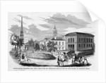 Lincoln Square, Worcester, Massachusetts by Corbis