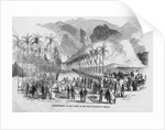 Commencement of Imperial Petropolis Railway by Corbis