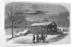 The Governor's Mansion, Lecompton, Kansas Territory by Corbis