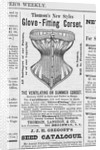 Advertisement for Corsets by Corbis