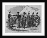 Costumes of French Troops Engaged in the Crimean War by Corbis