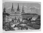 Entrance of the Imperial Family into Moscow, by the Gate of the Resurrection, Leading to the Kremlin by Corbis