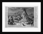 A Laplander's Encampment on the Neva at St. Petersburg by Corbis