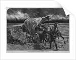 A Prairie Wind-Storm by Corbis
