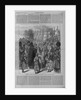 Roumanian priests at Ploesti blessing the emperor of Russian with bread and wine by Corbis