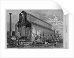 Grain elevator of the New York central and Hudson River Railroad by W. P. Snyder