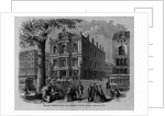The new horticultural hall, Tremont Street, Boston, Massachusetts by Corbis