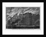 Burning of the Lindell Hotel, at Saint Louis, Missouri, March 30, 1867 by Corbis