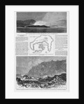 Magazine Illustrations of the Eruption at Santorin Published in Harper's Weekly by Corbis