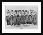 The champion nine of the union base-ball club of Morrisania, New York. Photographed by Grotecloss