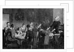 Thanksgiving - A Thanksgiving Dinner Among the Puritans by John Whetton Ehninger