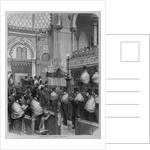 Consecration of a Jewish synagogue by Corbis