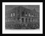 Mob in Front of the Captain-General's Palace, Havana, Cuba, June 1, 1869 by Corbis