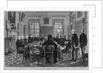 The British Cabinet in session by Corbis