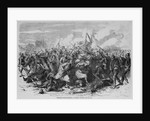 Turcos in action - charging a Prussian battery by Corbis