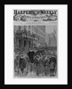 The farragut obsequies - the funeral procession passing up Broadway by Theo. R. Davis