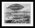 A New Balloon - Departure From Paris on the Trial Trip by Corbis