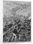 Training Carrier-Pigeons by Corbis