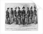 New Uniform of the United States Army. From Patterns Furnished By Messrs, Schuyler, Hartly, and Gra by Corbis