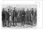General Grant Receiving His Commission as Lieutenant-General from President Lincoln Magazine Illustration Published in Harper's Weekly by Corbis