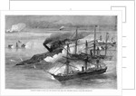 """Farragut's Victory in Mobile Bay - The Capture of the Rebel Ram """"Tennessee"""" by Corbis"""