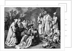 Grand Inquisitor Passing Sentence by Corbis
