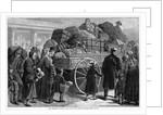The emigrant wagon - on the way to the railway station by Corbis