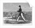 A Velocipede of Fifty Years Ago by Corbis
